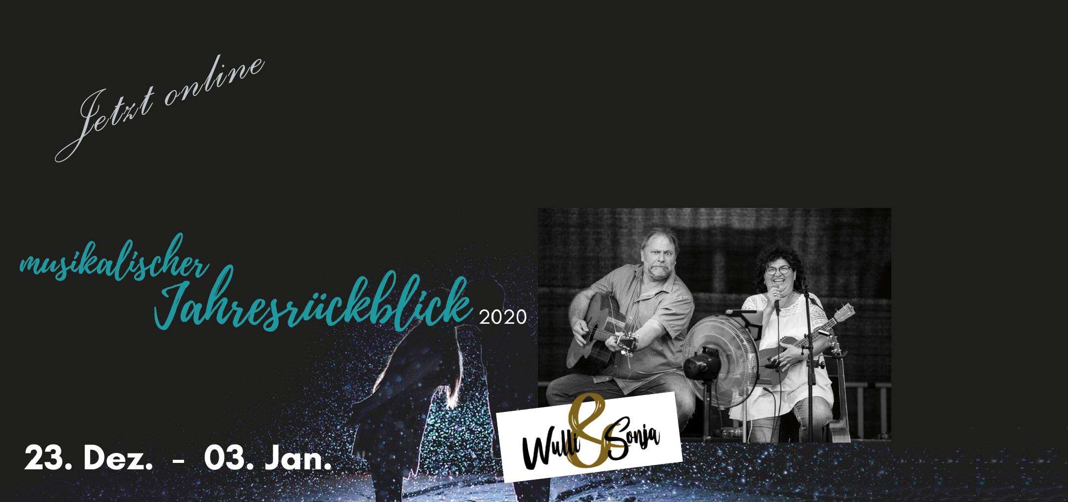 musikalischer Jahresrückblick mit Wulli&Sonja